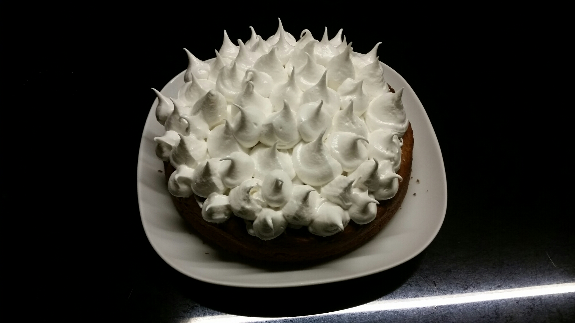 Sweet Potato Cake with Toasted Marshmallow Frosting ...