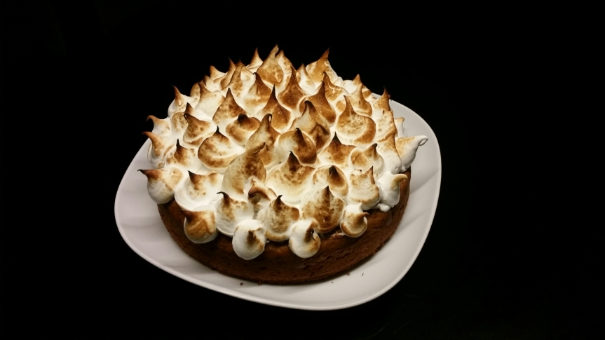 Sweet Potato Cake with Toasted Marshmallow Frosting – fowlbakes