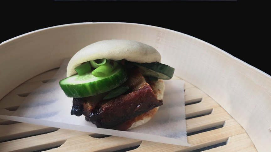 Roasted Pork Belly Bao
