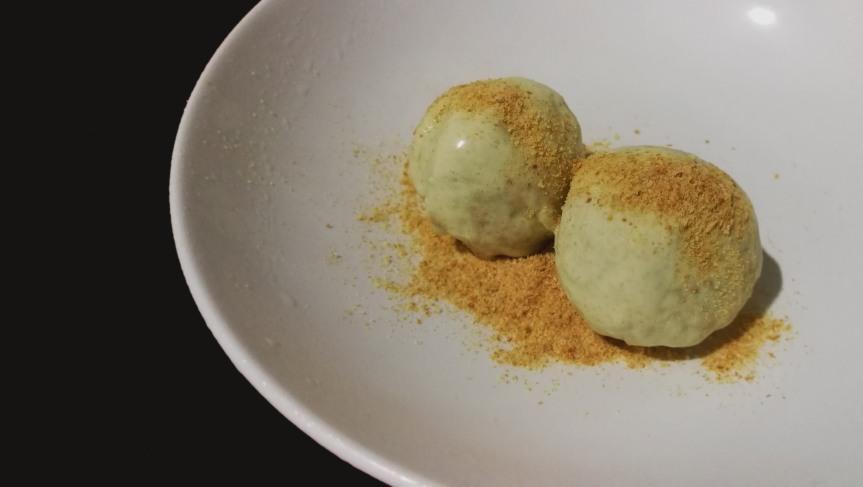 Kaya Toast Ice Cream (Pandan, Coconut, and Toast IceCream)