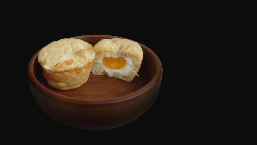 Korean Street Egg Bread(Gyeran-ppang)