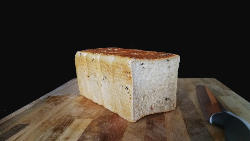Everything Bagel Hokkaido MilkBread