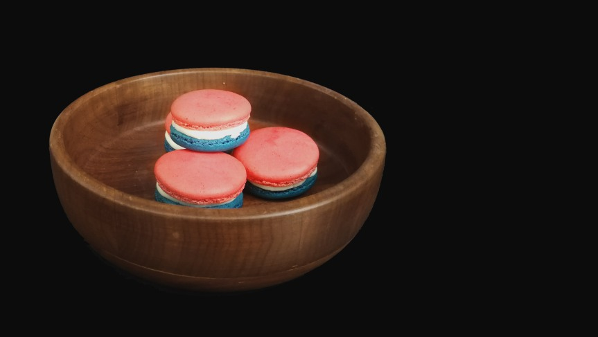 4th July CheesecakeMacarons