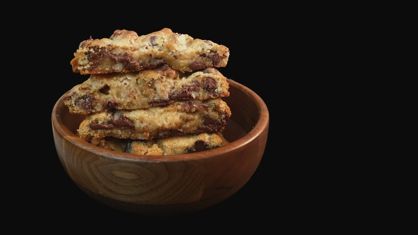 Giant Levain-style Chocolate Chip and WalnutCookies
